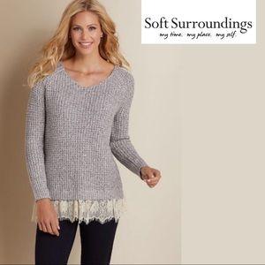 Soft Surroundings Soft Spoken Sweater